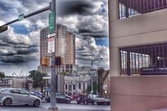 Verkehr in Austin, Texas Stockbild