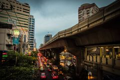 Verkehr Bangkok Stockfotos