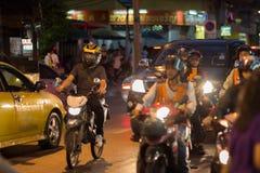 Verkehr in Bangkok Thailand Stockbild