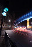 Verkehr beim Big Ben lizenzfreie stockfotos