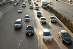Verkehr, Beirut, der Libanon lizenzfreies stockbild