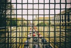 Verkehr in D C stockbilder