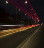 Verkehr in der Bewegung stockbilder
