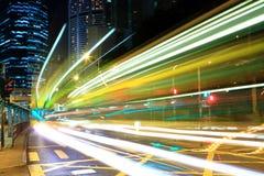 Verkehr in der Stadt lizenzfreies stockfoto