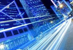 Verkehr in der Stadt lizenzfreies stockbild