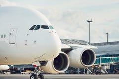 Verkehr am Flughafen stockfoto