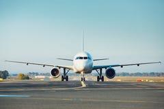 Verkehr am Flughafen lizenzfreies stockbild