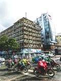 Verkehr in Ho Chi Minh City lizenzfreie stockfotos