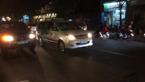 Verkehr in Ho Chi Minh City stock video footage
