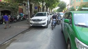 Verkehr in Ho Chi Minh City stock footage