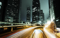 Verkehr in Hong Kong stockfotos