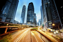 Verkehr in Hong Kong lizenzfreies stockbild