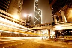 Verkehr in Hong Kong stockbild