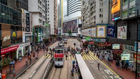 Verkehr in Hong Kong stock video