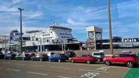 Verkehr im Hafen lizenzfreie stockbilder