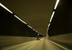 Verkehr im Tunnel Lizenzfreies Stockfoto
