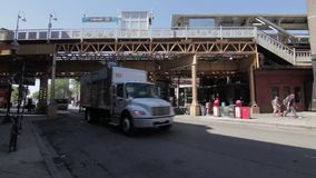 Verkehr im Weidenpark, Chicago HD stock video footage