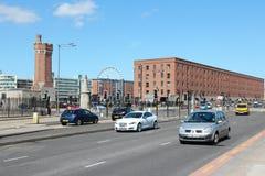 Verkehr in Liverpool Stockfoto
