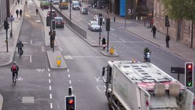 Verkehr in London stock footage