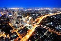 Verkehr nachts Stockbilder