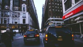 Verkehr in New York stockbild