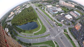 Verkehr in Orlando Metro Area stock video