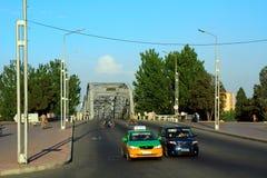 Verkehr, Pjöngjang, Norden-Korea Stockfotografie