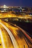 Verkehr in St. Louis stockbild