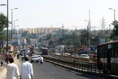 Verkehr von Bhopal Lizenzfreie Stockfotografie