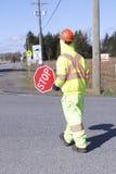 Verkehrs-Kontrolleur Uniform stockfoto
