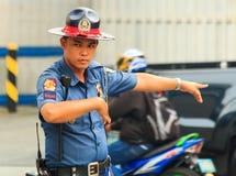 Verkehrs-Offizier Lizenzfreie Stockbilder