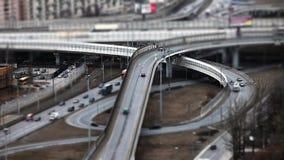 Verkehrs-Zeitspanne stock video