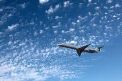 Verkehrsflugzeug. lizenzfreie stockbilder