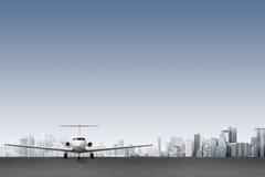 verkehrsflugzeug Lizenzfreies Stockbild