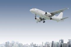 verkehrsflugzeug Stockfoto