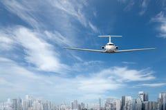 verkehrsflugzeug Lizenzfreies Stockfoto