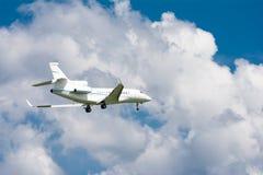 verkehrsflugzeug Stockfotografie