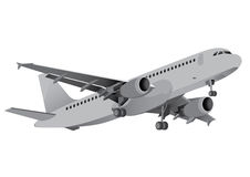 Verkehrsflugzeuge Lizenzfreies Stockfoto