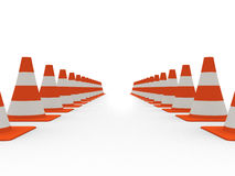 Verkehrskegel lizenzfreie abbildung