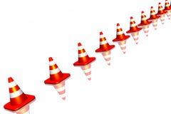Verkehrskegel Lizenzfreies Stockfoto
