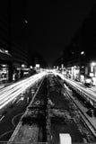 Verkehrsreiche Straße Stockfotografie