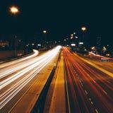 Verkehrsreiche Straßen Lizenzfreie Stockfotografie