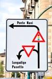 Verkehrsrichtung Stockbilder