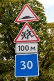 Verkehrsschild Stockfotografie
