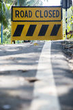 Verkehrsschild herein Goa, Indien lizenzfreie stockbilder