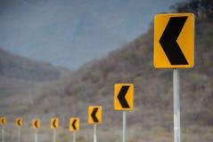 Verkehrsschild herein Oaxaca Lizenzfreies Stockfoto