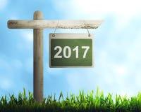 Verkehrsschild mit Nr. 2017 Lizenzfreie Stockfotografie