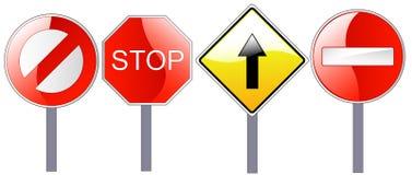 Verkehrsschilder Lizenzfreie Stockbilder