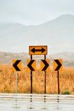 Verkehrsschilder Lizenzfreies Stockfoto