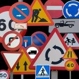 Verkehrsschilder Lizenzfreies Stockbild
